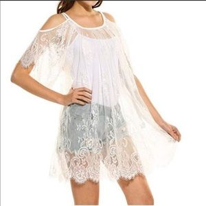 Other - ❣️❣️JUST IN❣️❣️Lace Tunic or Beach Coverup